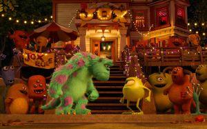 Mike und Sulley streiten
