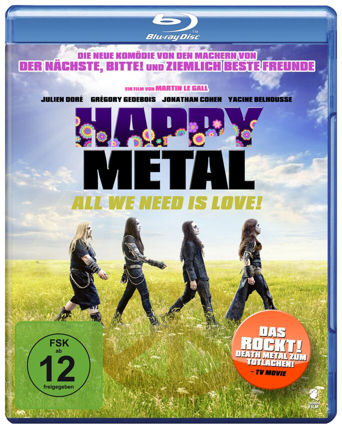 Happy metal – all we need is love make metal not war