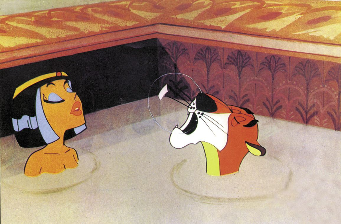Asterix und kleopatra wie die sphinx ihre nase verlor - Les bains de cleopatre ...