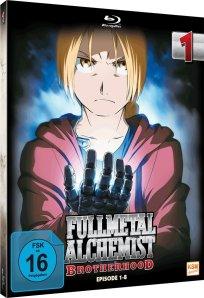 Fullmetal Alchemist - Brotherhood - Vol. 1 - Blu-ray 3D