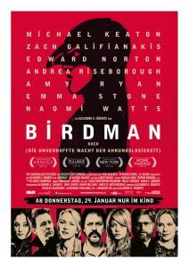 Birdman-Plakat