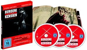Rurouni Kenshin Trilogy - Mediabook
