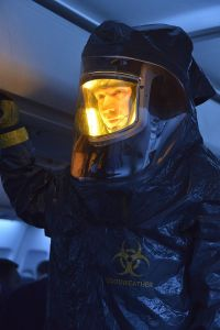THE STRAIN -- Pictured: Corey Stoll as Ephraim Goodweather. CR. Michael Gibson/FX