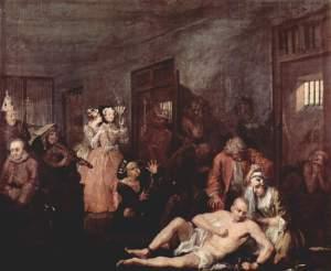William_Hogarth-A_Rakes_Progress-Gemaelde-8-In_The_Madhouse