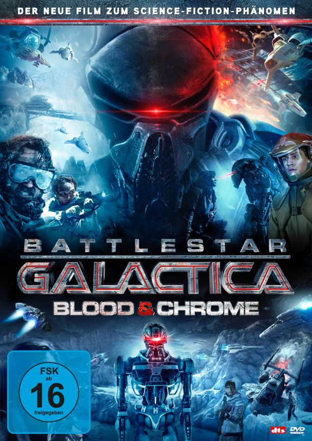 Battlestar Galactica Blood And Chrome Trailer Deutsch