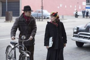 (L-R) JAKE LACY and ROONEY MARA star in CAROL