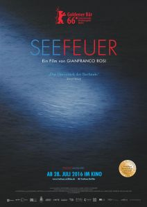Seefeuer-Plakat