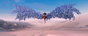 1700.0180.still.laika.0002 Kubo (voiced by Art Parkinson) is swept up by his magic origami wings in animation studio LAIKA's epic action-adventure KUBO AND THE TWO STRINGS, a Focus Features release. Credit: Laika Studios/Focus Features