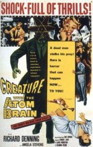 creature_with_the_atom_brain-plakat