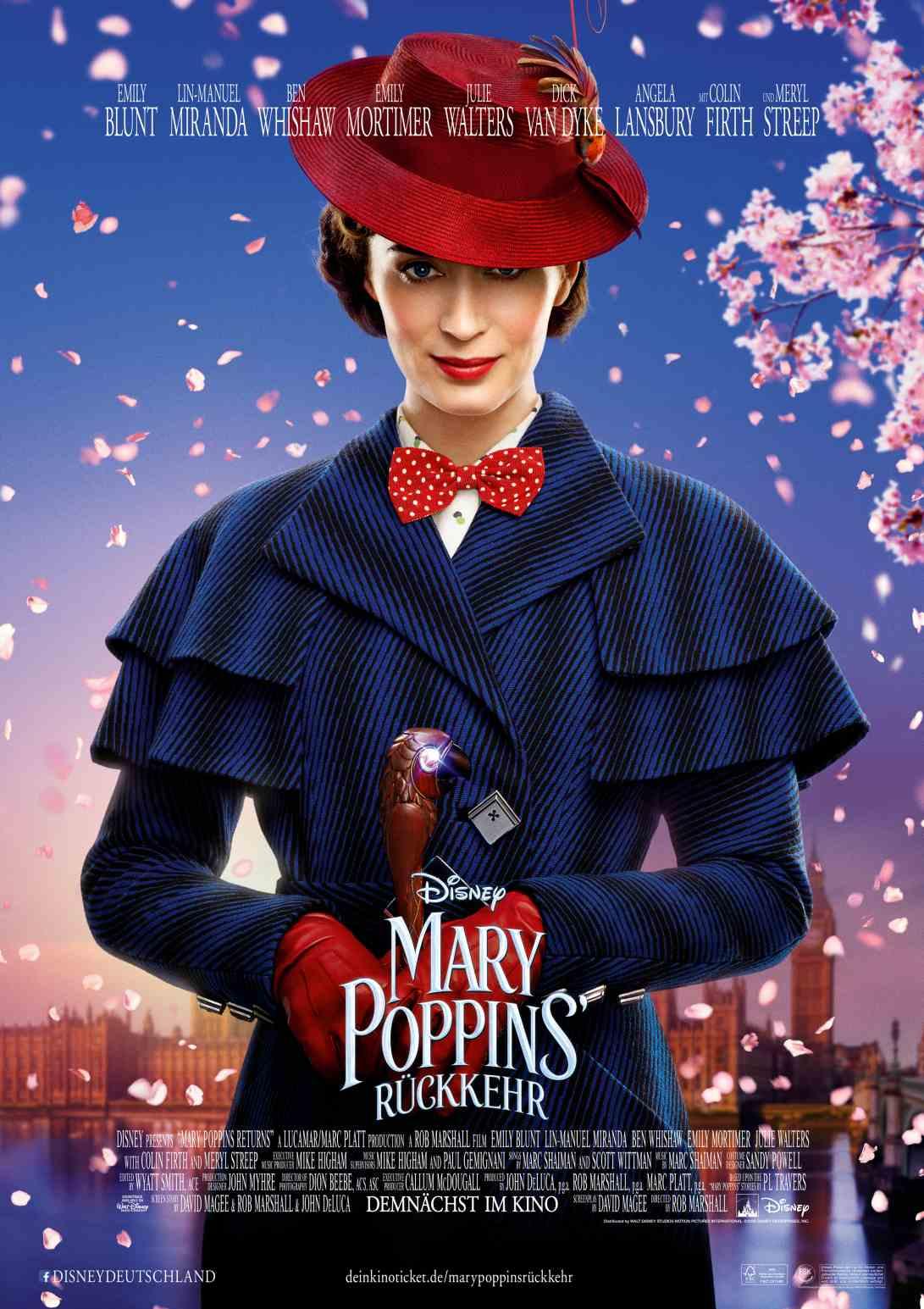 Mary Poppins Rückkehr Magisch Zauberhaft Und Herrlich Bunt Die